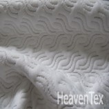 Silver knitted fabric (HX05012S)